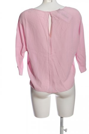 MNG SUIT Langarm-Bluse pink Casual-Look