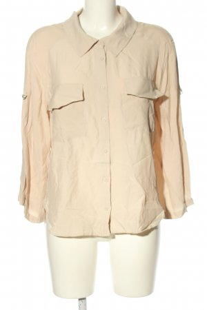 MNG SUIT Langarm-Bluse creme Casual-Look