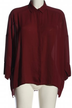 MNG SUIT Langarm-Bluse rot Casual-Look