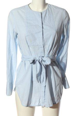 MNG SUIT Langarmhemd blau Casual-Look