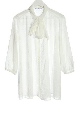 MNG SUIT Camisa de manga larga blanco estilo «business»