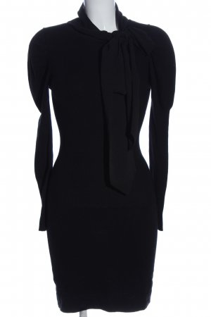 MNG SUIT Langarmkleid schwarz Casual-Look