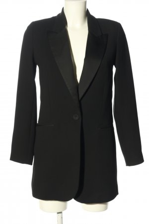 MNG SUIT Long-Blazer schwarz Business-Look
