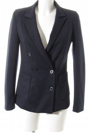 MNG SUIT Long-Blazer dunkelblau Business-Look