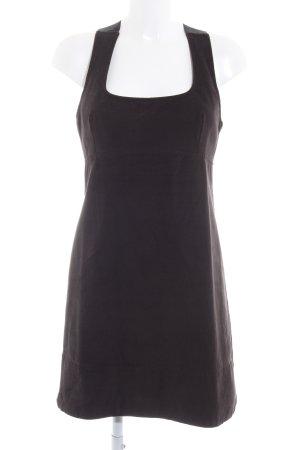 MNG SUIT Minikleid schwarz schlichter Stil