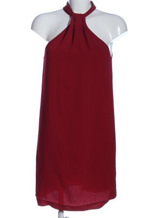 MNG SUIT Vestido de cuello Halter rojo look casual