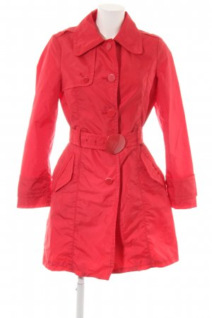 MNG SUIT Heavy Raincoat red business style