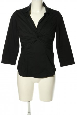 MNG SUIT Schlupf-Bluse schwarz Casual-Look