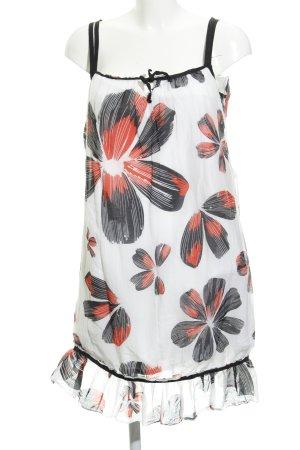MNG SUIT Schößchenkleid florales Muster Elegant