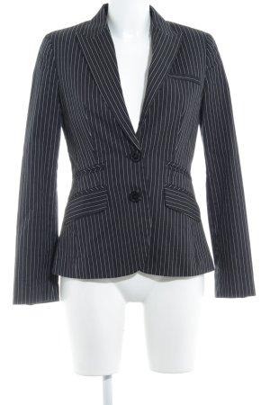 MNG SUIT Smoking-Blazer schwarz-weiß Nadelstreifen Business-Look