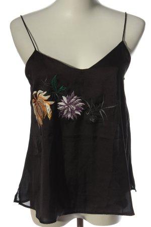 MNG SUIT Top con bretelline motivo floreale stile casual
