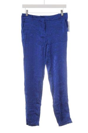 MNG SUIT Stoffhose blau Glanz-Optik
