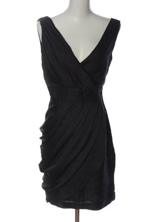 MNG SUIT Blusenkleid schwarz Elegant