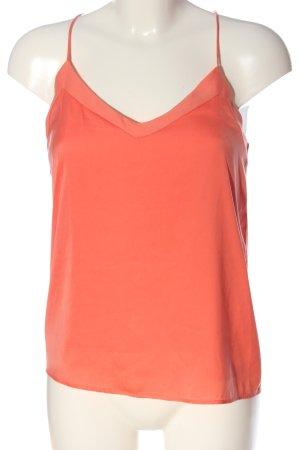 MNG SUIT Canotta a bretelle arancione chiaro stile casual