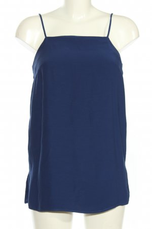 MNG SUIT Canotta a bretelle blu stile casual