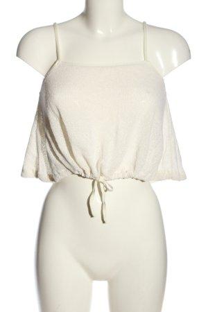 MNG SUIT Canotta a bretelle bianco stile casual
