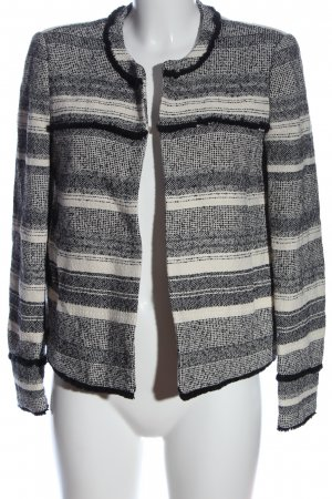 MNG SUIT Tweed Blazer striped pattern