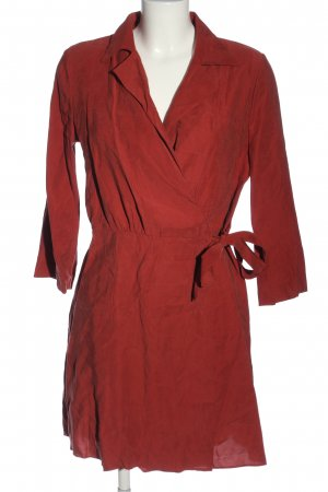 MNG SUIT Wickelkleid rot Casual-Look
