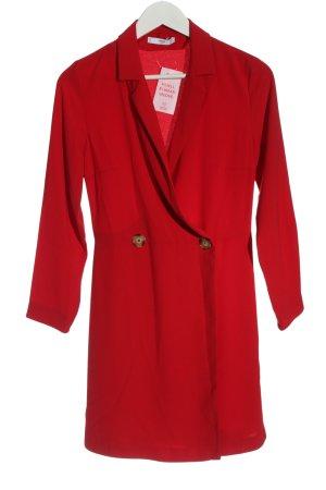 MNG SUIT Robe portefeuille rouge élégant