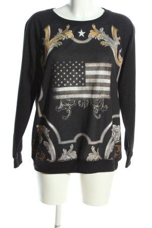 MNG Sweatshirt Motivdruck Casual-Look