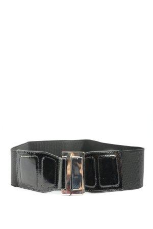 MNG Cinturón pélvico negro look casual