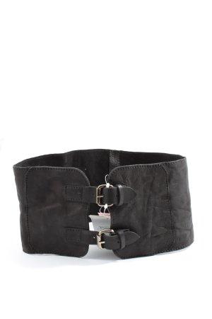 MNG Cintura vita nero stile casual