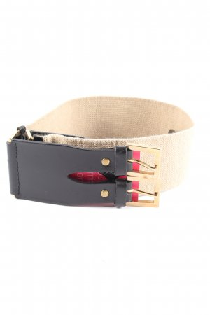MNG Waist Belt cream-black casual look
