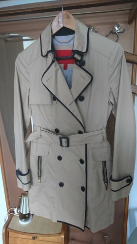 MNG SUIT Trench Coat oatmeal-black