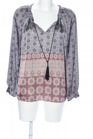 MNG Tunikabluse Allover-Druck Casual-Look