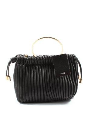 MNG Gekruiste tas zwart elegant