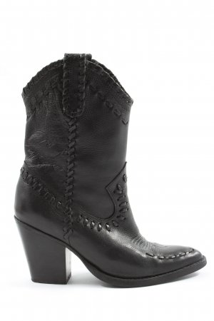 MNG Western-Stiefeletten schwarz Casual-Look