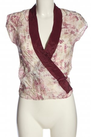 MNG Wickel-Bluse Allover-Druck Casual-Look
