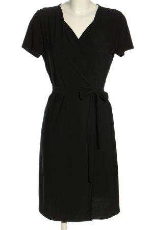 MNG Kopertowa sukienka czarny W stylu biznesowym