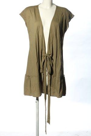 MNG Kopertowa sukienka khaki W stylu casual