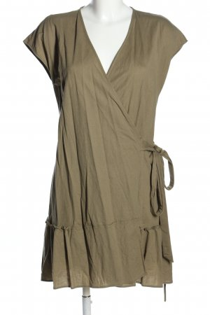 MNG Wickelkleid khaki Casual-Look
