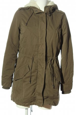 MNG Winterjacke khaki Casual-Look