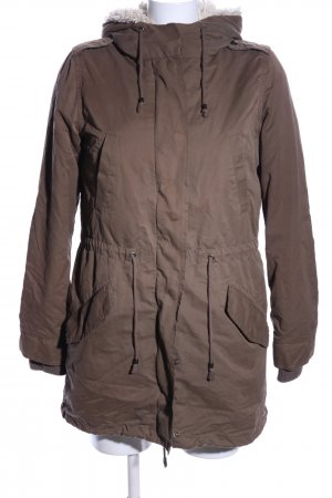 MNG Winterjacke braun Casual-Look