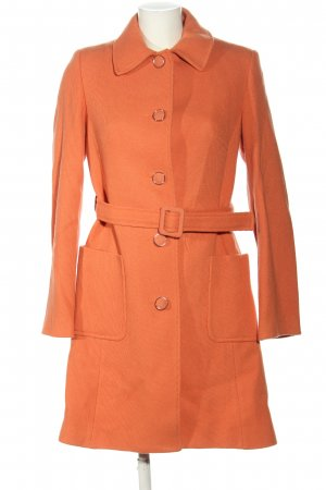 MNG Wollmantel hellorange Casual-Look