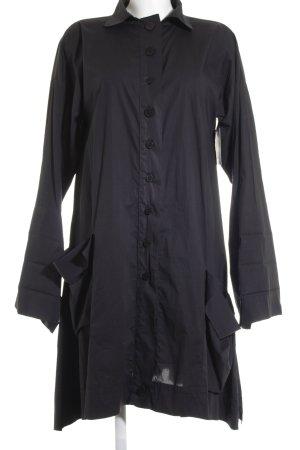 Mo Koshji Robe chemise noir style classique