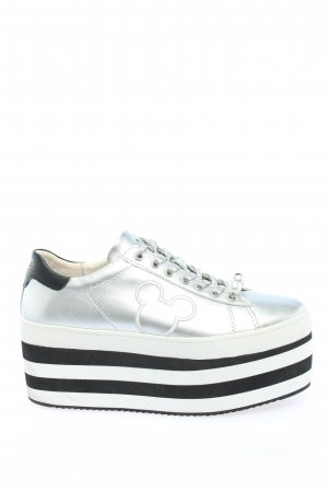 MOA - Master of Arts Heel Sneakers striped pattern casual look