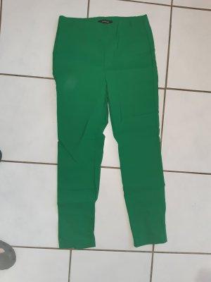 mocca Pantalon boyfriend vert viscose
