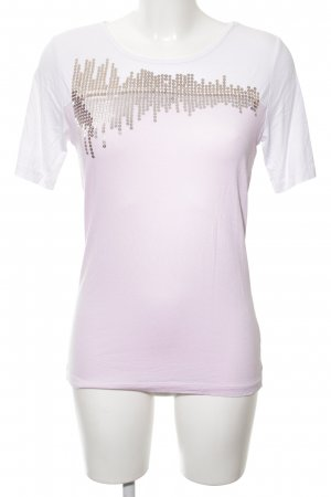 Mocca Italy T-Shirt mehrfarbig Casual-Look