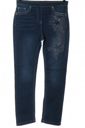 mocca Jegging blauw casual uitstraling