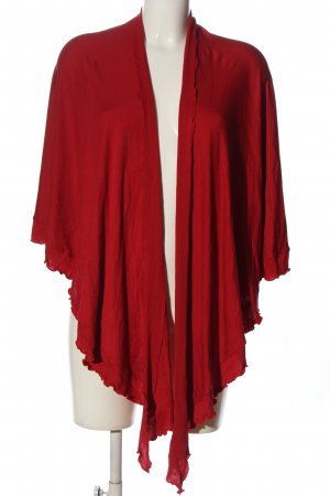 mocca Shoulder Scarf red casual look