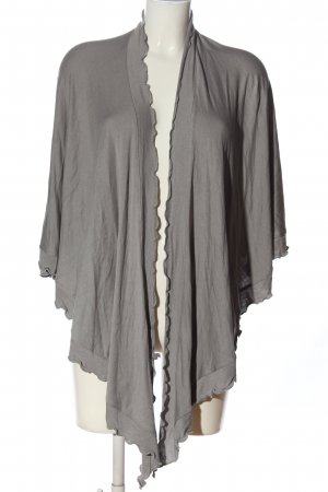 mocca Shoulder Scarf light grey casual look