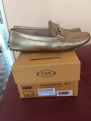 Tod's Mocasines color oro