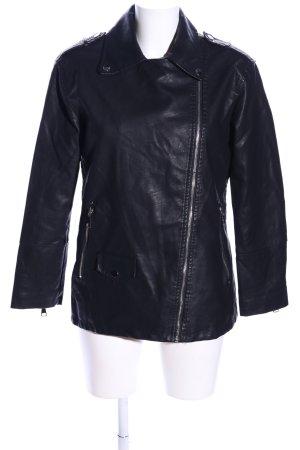 Mochy Biker Jacket black casual look