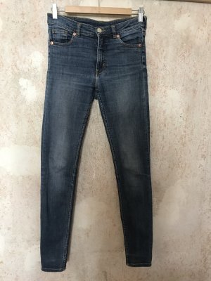 Monki Jeans skinny bleu