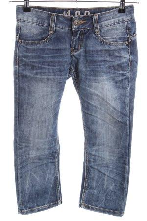 MOD Jeans a 3/4 blu stile casual