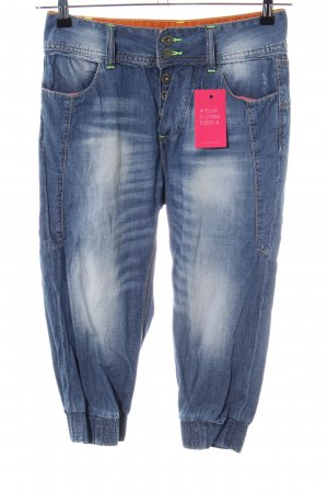 MOD 3/4-jeans blauw casual uitstraling